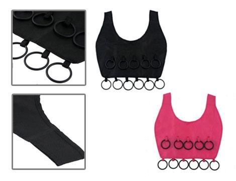 Organizer sciarpe a forma di vestito_N