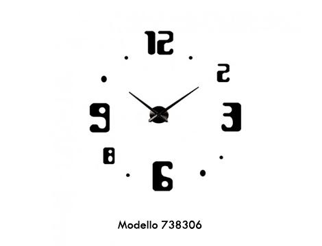 Orologi da parete adesivi 3D