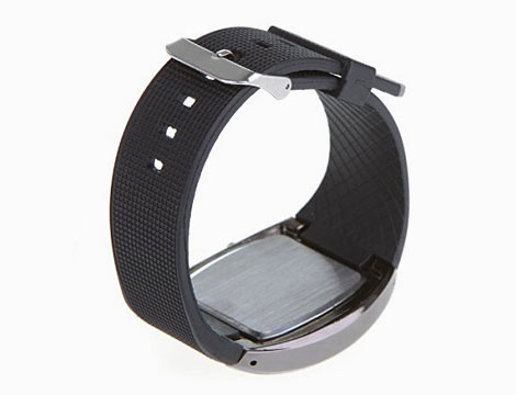Orologio in acciaio a LED_N