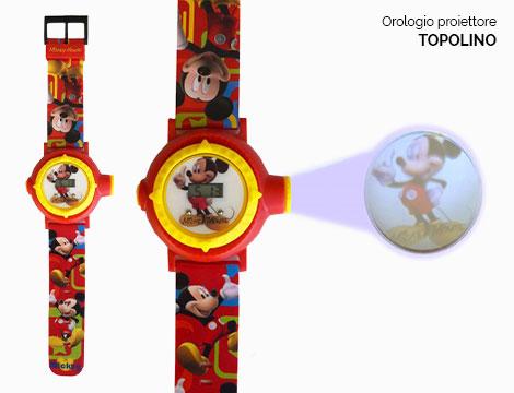 Orologio proiettore Disney