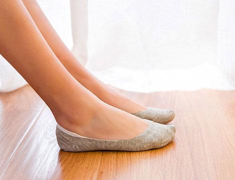 Pack 12 calze antiscivolo donna