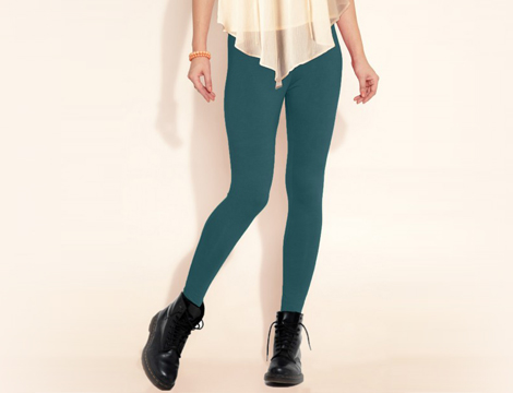 pack 12 leggings termici donna