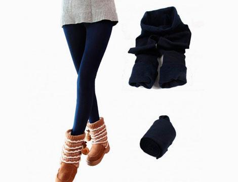 Pack 5 leggings termici