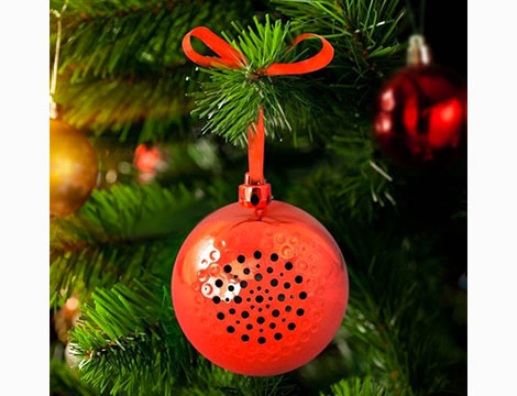 Palla di Natale speaker BT
