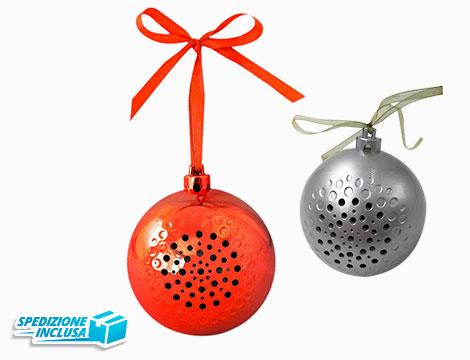 Palla di Natale speaker Bluetooth