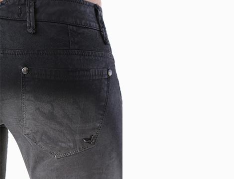 Pantalone nero Sexy Woman dettaglio due