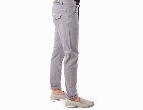 Pantalone uomo a vita bassa Absolut Joy fianco