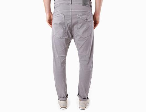 Pantalone uomo a vita bassa Absolut Joy retro