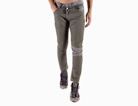 Pantaloni Absolut Joy verde frontale