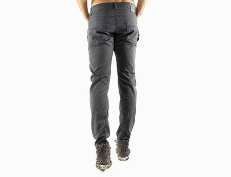 Pantaloni con tasche Absolut Joy antracite fronte retro