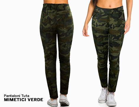 Pantaloni Tuta  mimetici_N