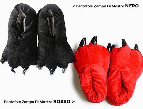 Pantofole Zampa  Di Mostro_N