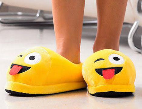 Pantofole emoticon unisex