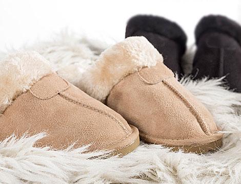Pantofole termiche pelose_N