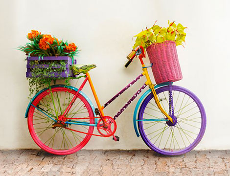 Parure copripiumino 2 piazze bici