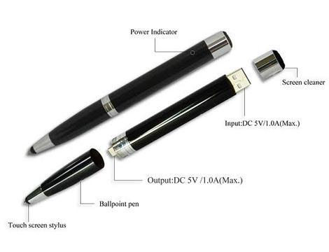 Penna Multifunzione 4in1