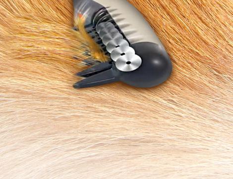 Pettine elettrico per animali
