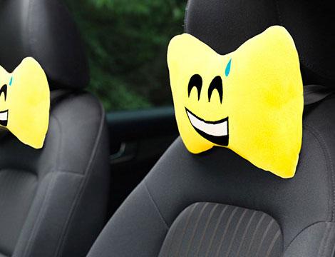 Poggiatesta auto emoticons_N