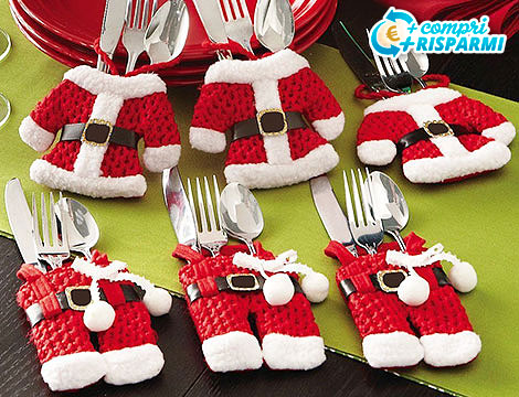 Portaposate Babbo Natale_N
