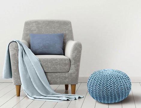 Pouf Dedalo by Homemania