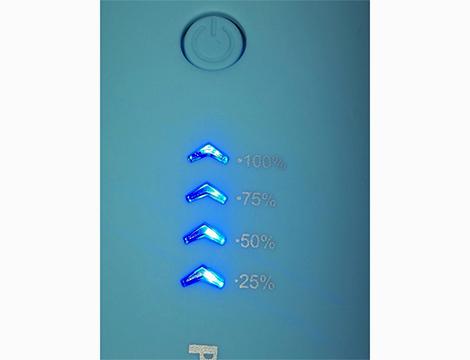 Powerbank 6800 mAh dettaglio comandi