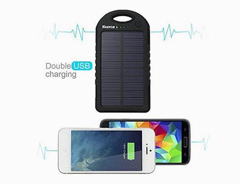 Powerbank solare 5 mila mAh