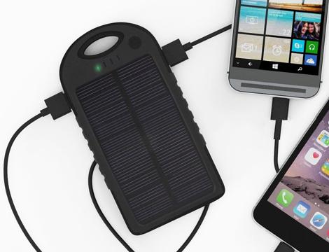 powerbank solare 5000mAh
