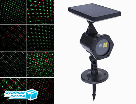 Proiettore Laser Luci LED_N