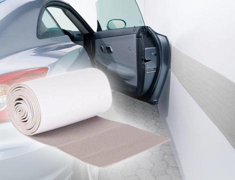 Protezione adesiva box auto