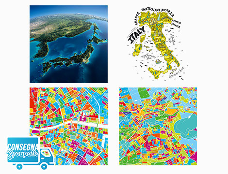 Mappe in canvas