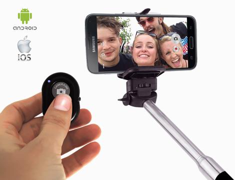 Remote control BT selfie GRATIS