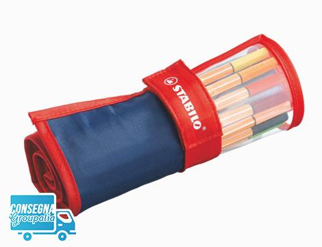 Rollerset 25 penne Stabilo Point 88