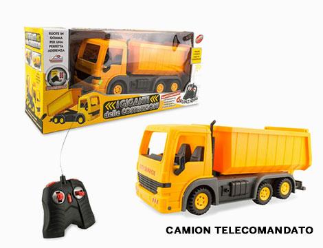 Ruspa betoniera o camion telecomandati_N