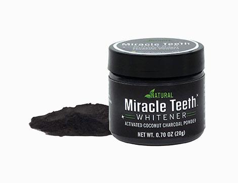 Sbiancante denti al carbone naturale