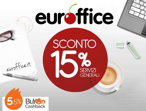 Sconto su Euroffice + Cashback su BuyOn