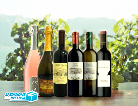 Selezione di vini veneti