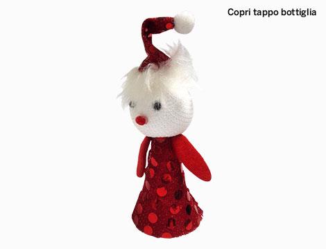 Set 3 decorazioni natalizie in feltro