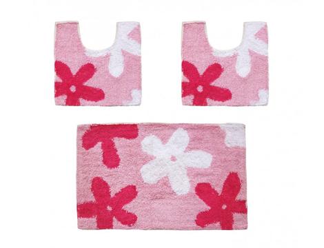 Set 3 tappetini colorati