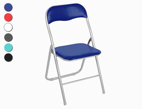 Set 4 sedie pieghevoli_N