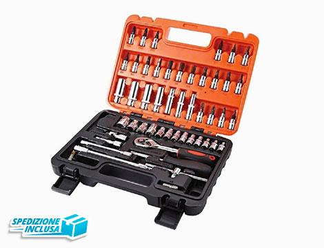 Set 53 Pezzi di chiavi a bussola di riparazione