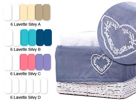 asciugamani viso Lovely Home_N