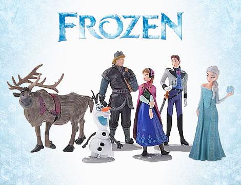 Set 6 personaggi Frozen_N