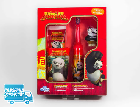 Set Oral Care Kung Fu Panda