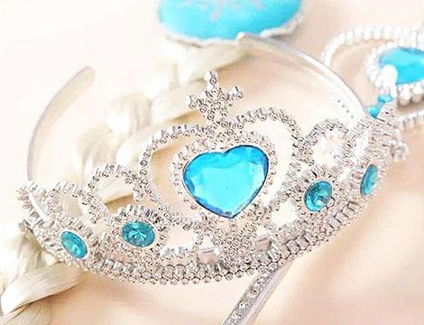 Set carnevale di principessa del ghiaccio_N