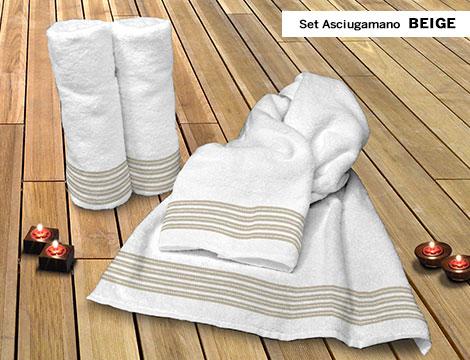 Set spugna Cogal asciugamano ospite