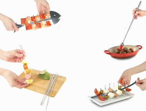 Set barbecue lovers