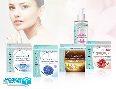 Set beauty routine Clinians_N