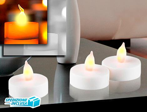 Set candele led a scelta