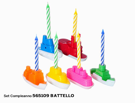 Set Compleanno