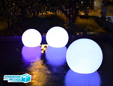 Sfera luminosa BT con APP